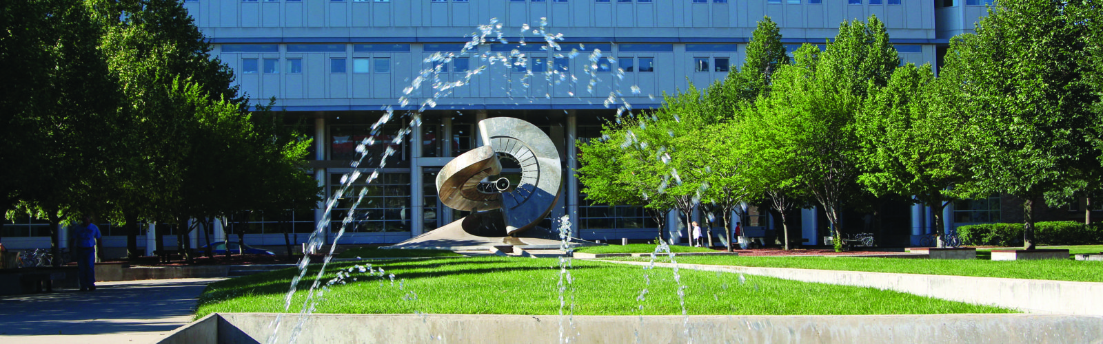 Engineering hall and mall